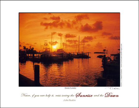 Free Poster - Never miss a sunrise