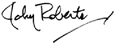 Signature of John Roberts, Founder and CEO of www.LiveLearnAndProsper.com and author of Stock Market For Beginners