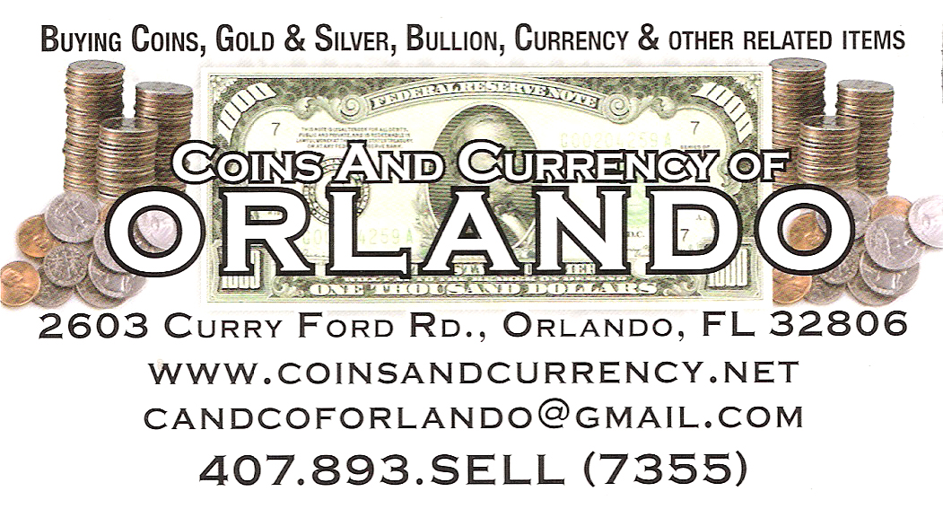Coins and Currency Orlando