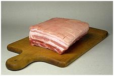 Pork Bellies look a lot like bacon