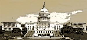 Government Capital Building - orig 300 dpi 450 poster sepia